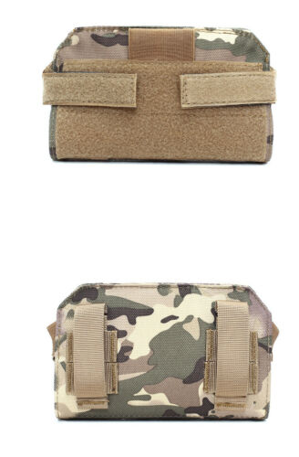 Details about  /Outdoor tactical chest bag  camouflage accessories small bag map bag sundry bag