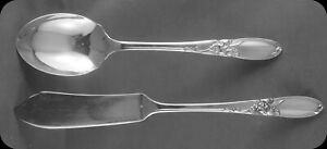 Community-White-Orchid-Master-Butter-Knife-and-Sugar-Spoon-2-sets-avail
