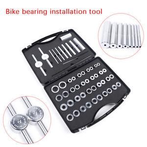 25PCS Bike Bottom Bracket Bicycle Hub/&BB Axis bearing installation Press Tool US
