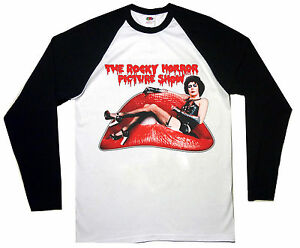 ROCKY HORROR PICTURE SHOW MOVIE FILM T-SHIRT baseball long sleeve unisex S-3XL