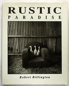 SIGNED-Rustic-Paradise-Robert-Billington-1st-Ed-HCDJ-1992-Award-Winning-Aust
