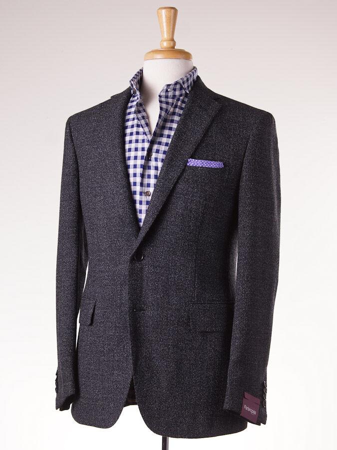 NWT  3095 SARTORIA PARTENOPEA Charcoal Melange Wool-Alpaca Sport Coat Slim 38 R