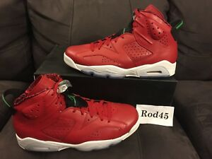 differently a4f1a 99c13 Image is loading Nike-Air-Jordan-6-VI-Retro-Spizike-Red-