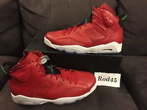 differently 50a29 40d57 Image is loading Nike-Air-Jordan-6-VI-Retro-Spizike-Red-