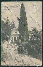 Alessandria Serralunga di Crea POCO SCOLLATA cartolina QQ6910