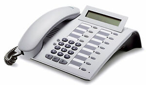 Siemens OptiPoint 500 standard Systemtelefon Telefon+Rechnung MwSt. Hicom arctic