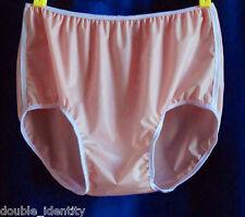 .2mm Latex Rubber Light Pink Sissy Crossdress Brief Waterproof Underwear