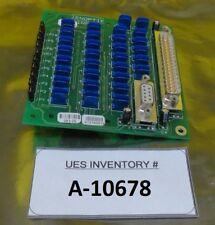 Jenoptik 812100019 Interface Board Pcb 083 25 Infab Used Working