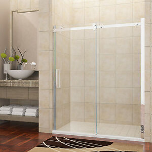 luxus duschabtrennung duschkabine duscht r 8mm glas. Black Bedroom Furniture Sets. Home Design Ideas