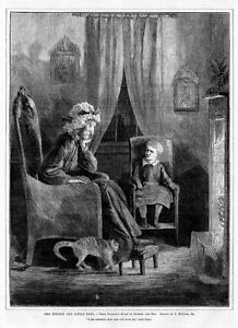 FIREPLACE DOMBEY AND SON CHARLES DICKENS STORY, EYTINGE
