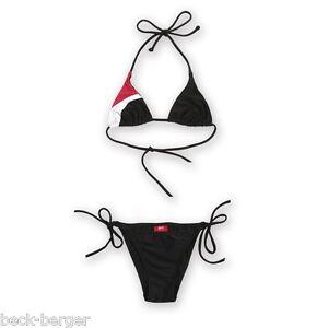DUCATI-Corse-Neckholder-Bikini-Bademode-schwarz-weiss-rot-sehr-sexy-NEU