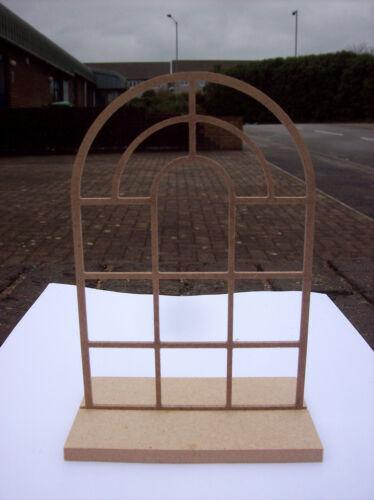 Medium 12th Scale Arch Georgian Window