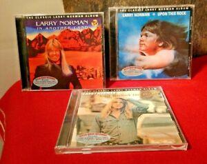 Rare! 3 CD Lot of Larry Norman CD's (one sealed!) w/ BONUS Tracks Solid Rock LN!