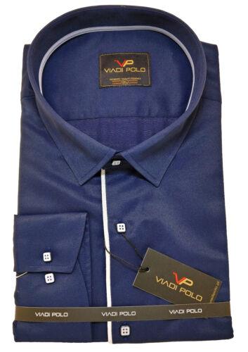 Grande taille Plain Coton Chemise Homme col classique formelle Casual à manches longues