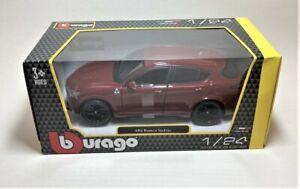 Novo Bburago Vermelho Alfa Romeo Stelvio 1/24 Escala 1:24 Die Cast Car Model Burago