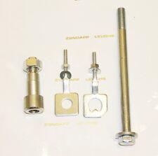 Zündapp Hinterrad Achsenhülse Nut + Achse + Kettenspanner C 50 Sport Typ 517
