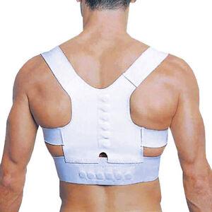 Ceinture-Soutien-Support-Dos-Magnetique-Douleur-Posture-Armor-Reglable-Neuf