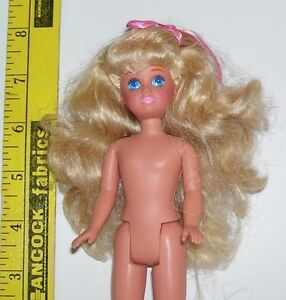 MATTEL Barbie SISTER STACIE NUDE DOLL MALAYSIA FOR OOAK NEW FROM BOX