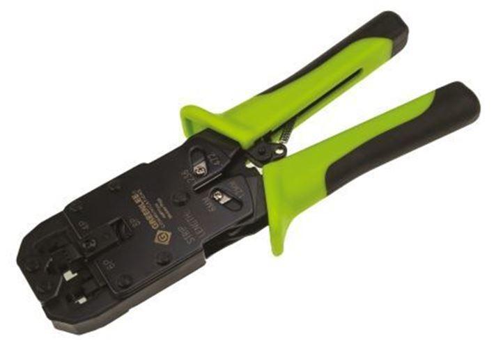 Paladin Ratchet Crimping Tool, RJ11, RJ12, RJ45, Minimum 28AWG, Maximum 22AWG