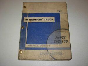 Details about Wabco 50 Haulpak Truck Parts Catalog Manual , s/n BFA9-E - up