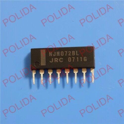 5PCS JFET OP AMP IC JRC SIP-8 NJM072BL JRC072BL 072BL