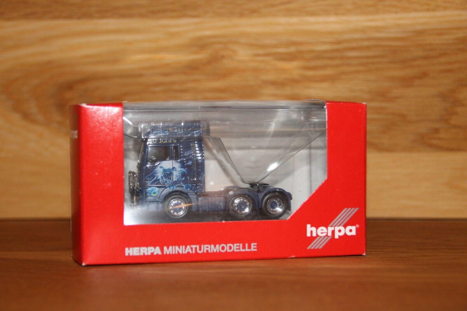 selección larga Herpa, 110853 MAN MAN MAN TGX XXL 6x2 tractor  Robert dobner   online al mejor precio