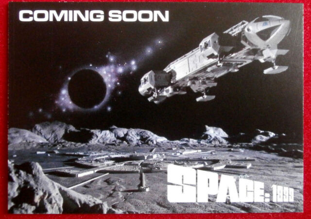 Gerry Anderson's SPACE 1999 - Promo Card - Unstoppable Cards - PR1 - 2017