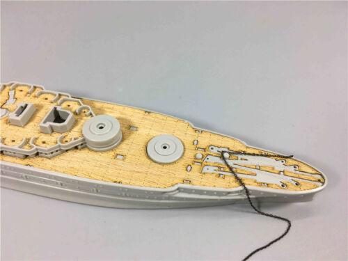 Wooden Deck for 1//700 HobbyBoss 83401 USS Arizona BB-39 1941 Model CY700005