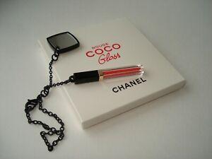 CHANEL-Beaute-charm-plastic-lip-gloss-shape-and-mirror-on-chain-VIP-gift