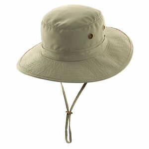 88316362 Dorfman Pacific Microfiber Boonie Hat Men's Size Medium Tan MC241 ...