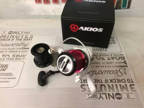PLUS LIBRE Mono Akios airloop R10 Fixe bobine surf casting reel..