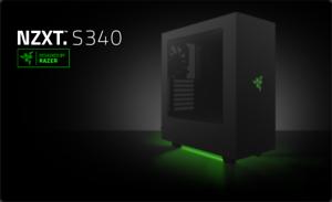 NZXT-S340-Edition-Carcasa-ATX-PC-Special-disenado-por-Razer-totalmente-Nuevo