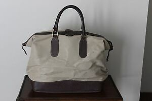 88b4ae03cd4724 Image is loading Authentic-Vintage-GUCCI-Tan-Duffel-Travel-Bag-Carry-