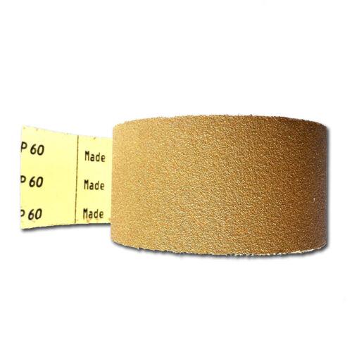 "2-3//4/"" Sandpaper Roll PSA Adhesive Longboard 2-3//4 Inch X 20 Yards, 40 grit"