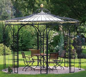 Gartenpavillon Metall Eisenpavillon Pavillon Schmiedeeisen ...