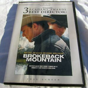 Brokeback-Mountain-DVD-2006-Full-Frame-Cowboy-Romance-Gay-Interest
