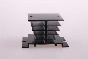 Aluminum-Heat-Sink-Black-for-Solid-State-Relay-SSR-Heat-Dissipation-10A-40A-1Pcs