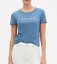 NWT-Banana-Republic-Women-Crew-Neck-Logo-Tee-Short-Sleeve-T-Shirt-S-M-L-XL thumbnail 6