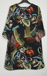 New-Marks-amp-Spencer-Collection-Smudge-Print-Tunic-dress-UK-Size-8-22