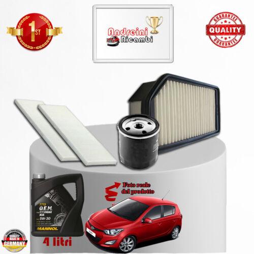 Öl Hyundai i20 1.2 57KW 78CV Von 2009-/> Service Filter
