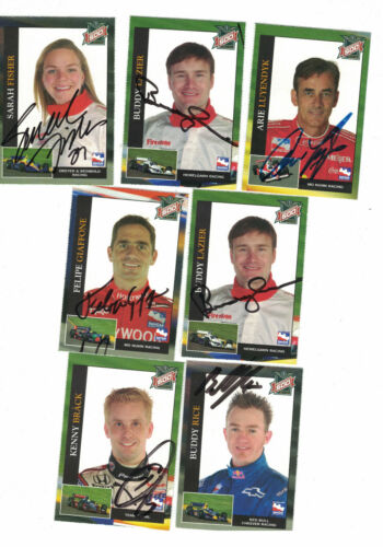 2003 Indianapolis 500 Buddy Lazier Authentic Autograph COA INDY CAR RACING