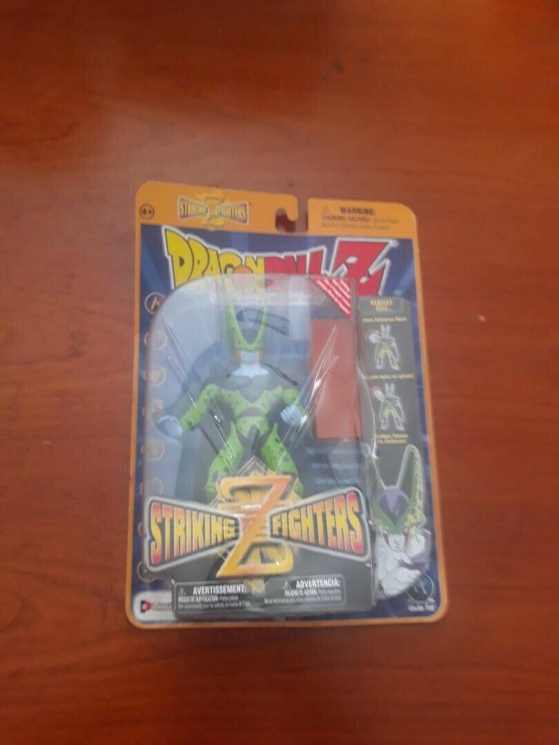 Jakks Dragon Ball DragonBall Z GT Striking Z Fighters Perfect Imperfect Cell