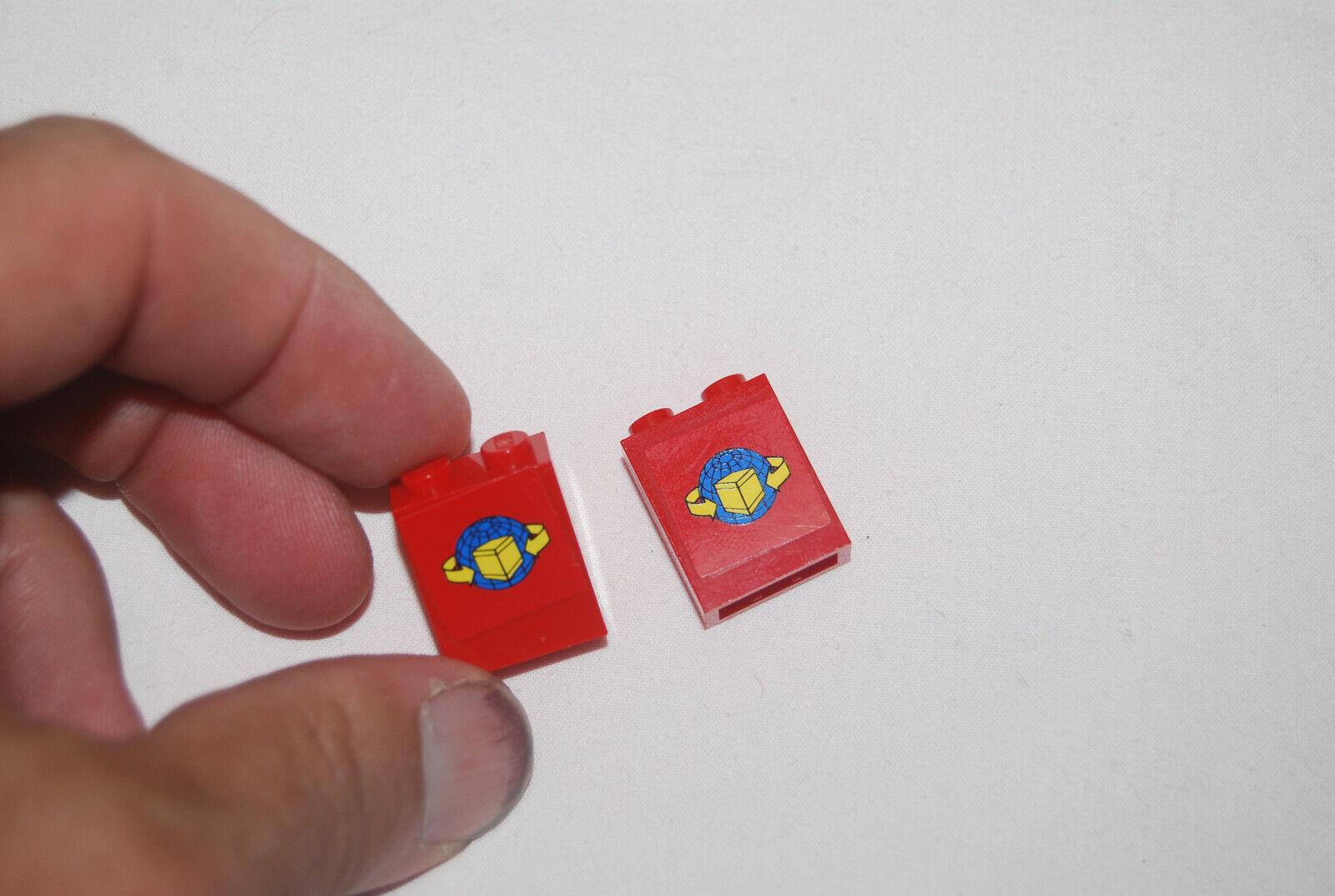 set//pair of 2 NEW Sliding Cargo Train Doors Gray LEGO
