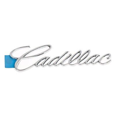 Cadillac Seville Deville Eldorado Chrome Emblem Nameplate OEM Badge Trunk Lid