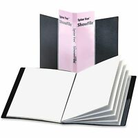 Cardinal Presentation Book Poly 24 Pocket 11x8-1/2 Black 51232