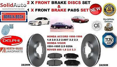 FRONT AND REAR PADS FOR HONDA ACCORD 2.0 8//1998-5//2003