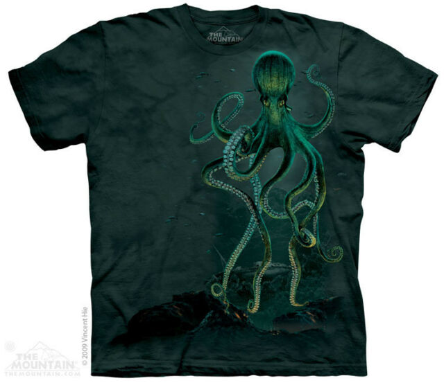 Octopus The Mountain Adult & Youth T-Shirt
