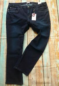 Sheego-Women-039-s-Trousers-Jeans-Power-Stretch-Size-46-to-58-Blue-Dark-500-New