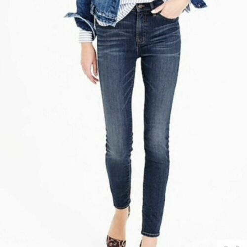 J. Crew Lookout High Rise Skinny Jean Travers Wash - image 1