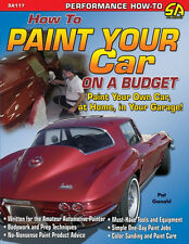 How to Paint Your Car on a Budget  Book ~practical secrets~prep~techniques~NEW!